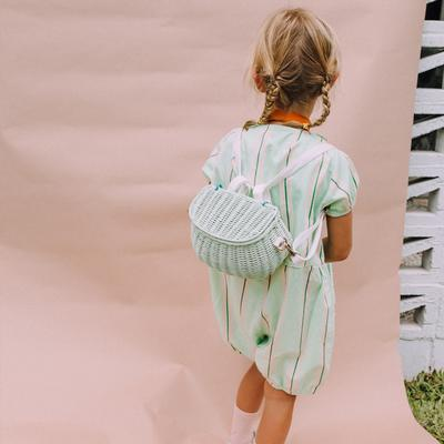 Mini Chari Bag Mint- Little French Heart