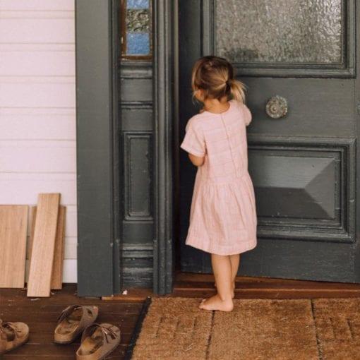 Olli Ella Clover Rose Toddler Dress Little French Heart