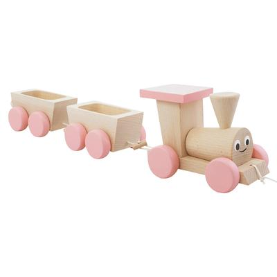 Traditional Wooden Pull Along Train Belle