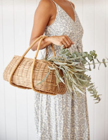 Whether its for trips to the market or beach or filled with household essentials and bouquets, we love these bags for just about anything and everything. They are