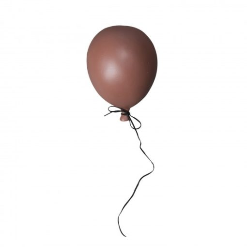 ByOn Dusty Red Balloon Wall Decor Small
