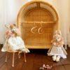 Tiny Harlow Rattan Dolls Storage