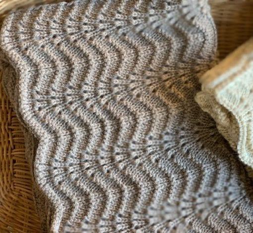 Bonet et Bonet Camille Blanket Muschroom