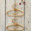Tiny Harlow Dolls Coat Hangers