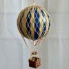 Vintage Hot Air Balloon Blue