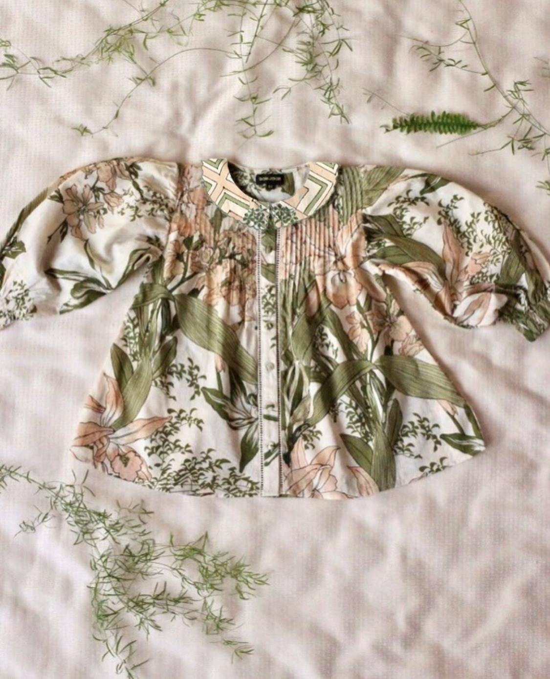 Bonjour Diary Madeleine Blouse Orchid