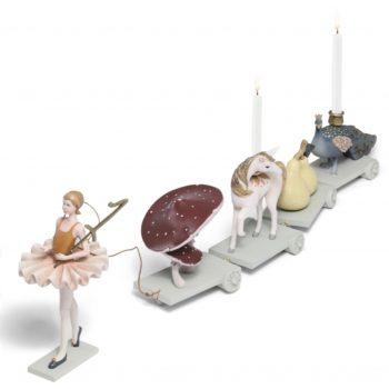 Birthday Train - Ballerina