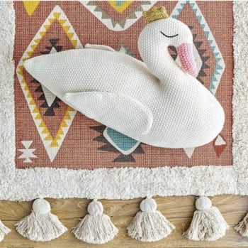 Bloomingville Swan cushion