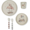 Flamingo dinner set little french heart