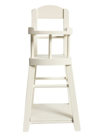 Maileg High Chair For Micro Off White