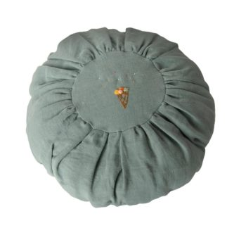 Maileg Cushion Round Dusty Blue