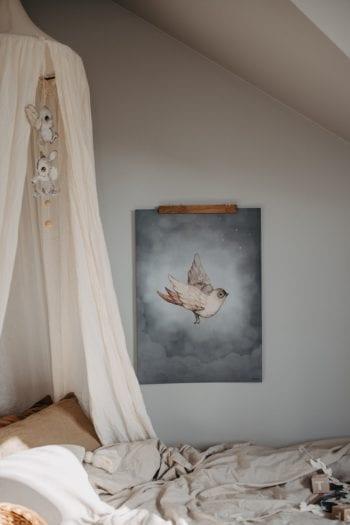 Mrs Mighetto Dear Sparrow Poster