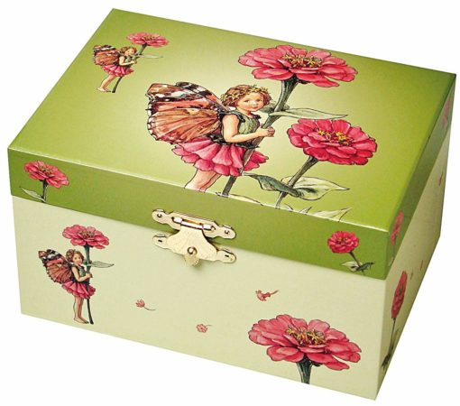 Musical Jewellery Box Flower Fairies