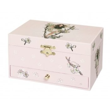 Musical Jewellery Box Flower Fairies Cherry