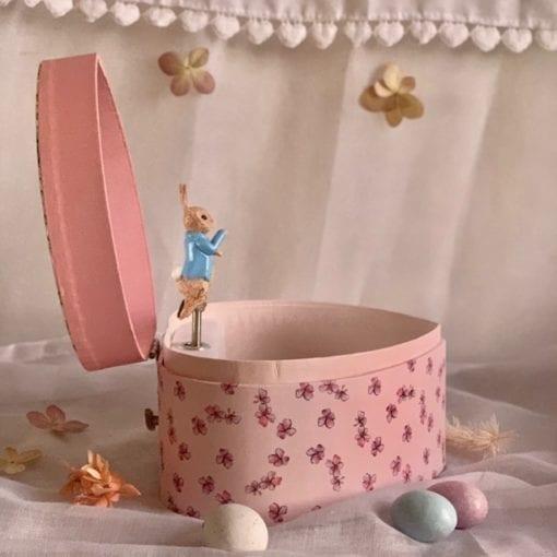 Peter Rabbit Music Box Heart Little French Heart 3