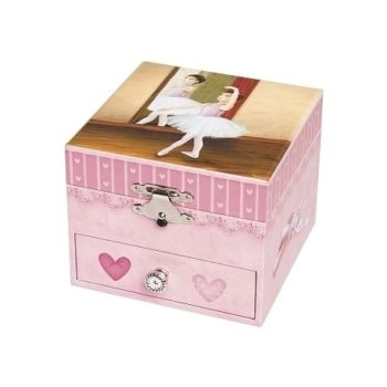 Trousselier musical-cube-box-ballerina Little French Heart