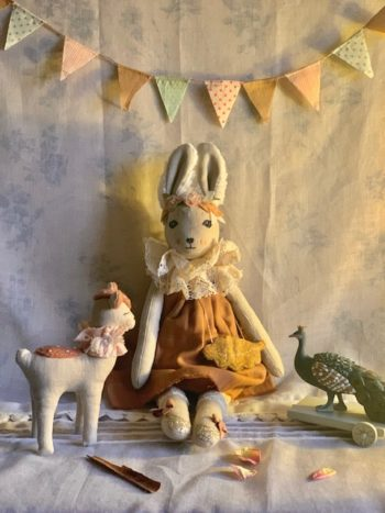 Woodlands Bunnette Collectible Doll #Littllefrenchheart