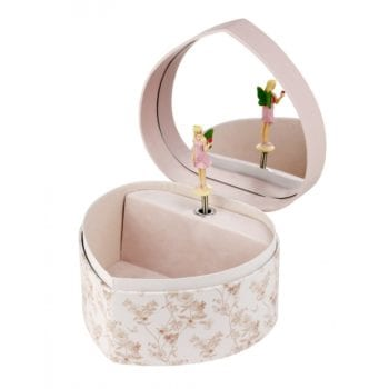 Flower Fairy Music Box Jasmine Little French Heart