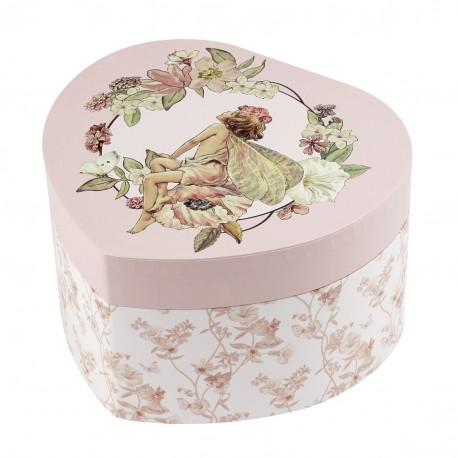 Flower Fairy Music Box Jasmine Little French Heart