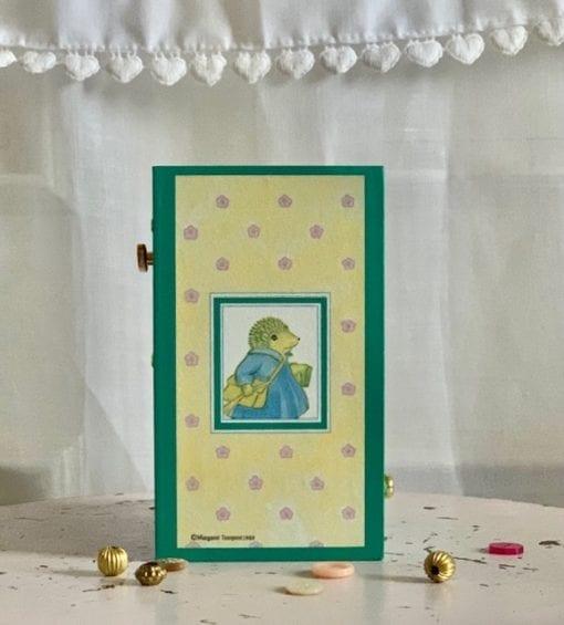 Dancing Musical Little Grey Rabbit Medium Little French Heart main image