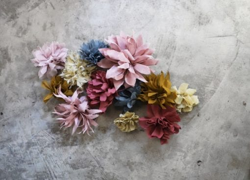 Flowers-making Kit Autumn Mix_Finished product low