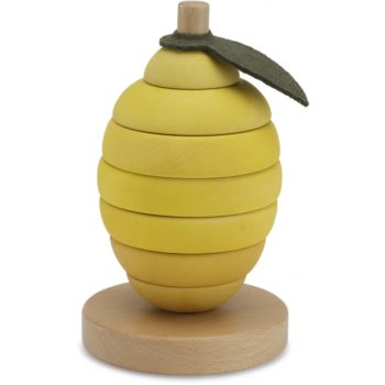 Wooden Stacking Fruit - Lemon