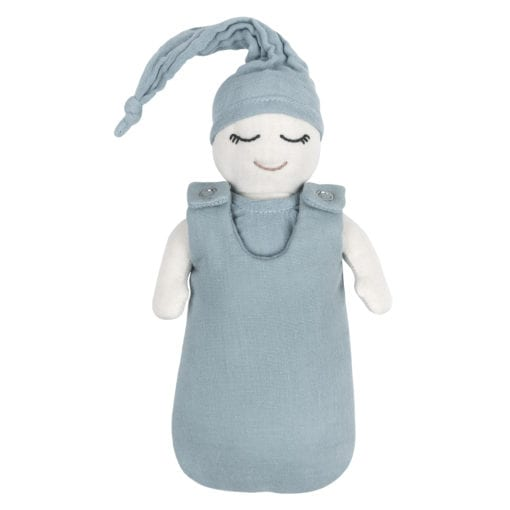 Doll Baby Essential Set Blue Little French Heart