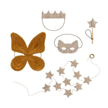 Numero 74 Doll Fairy Set Gold