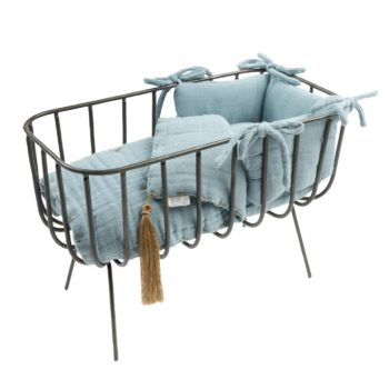 Numero 74 Dolls Crib Set Sweet Blue