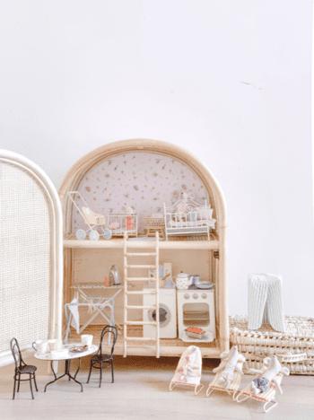 Tiny Harlow Dolls Cabinet