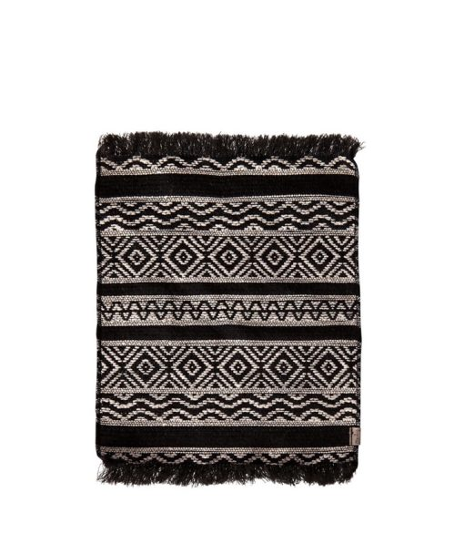 Maileg Miniature Rug Black and White