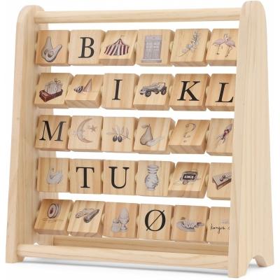 ABC Wooden Block Frame