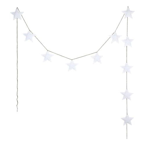 Numero 74 Cotton Padded Mini Star White