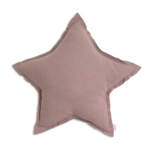 Numero 74 Dusty Pink Star Cushion Little French Heart