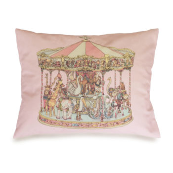 Atelier Choux Velour Cushion Carousel