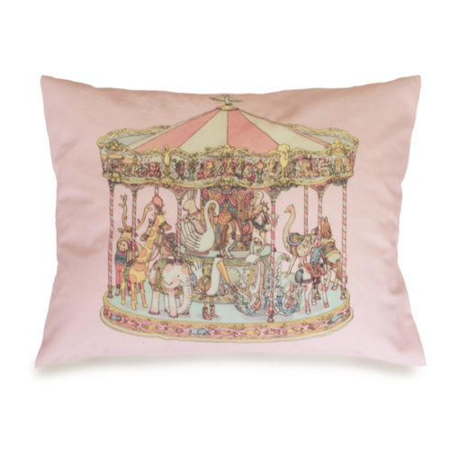 Atelier Choux Velour Cushion Carousel