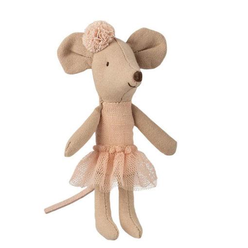 Maileg-Ballerina-Mouse-Little-Sister-Little-French-Heart
