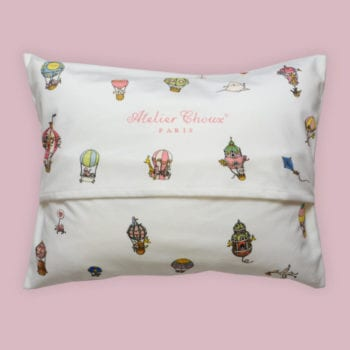 Atelier Choux Velour Cushion Hot Air Balloon
