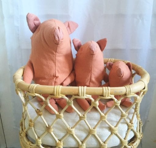 Maileg Truffle Pigs - Little French Heart