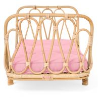Poppie Toys Dolls Day Bed Blush