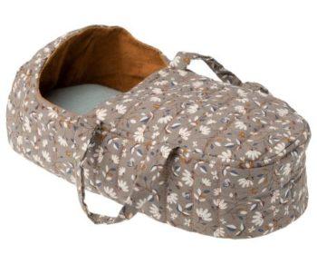 Maileg Quilt Carry Cot Ochra