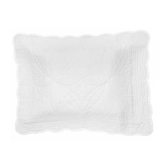 Little French Heart Bonne-Mère-Pillow White