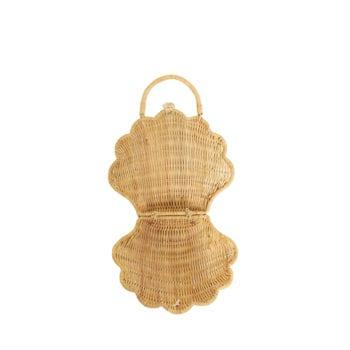 Little French Heart Olli Ella Seashell Purse-Straw-02