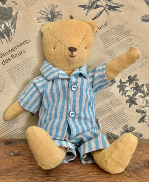 Maileg Junior Ted with Pjs