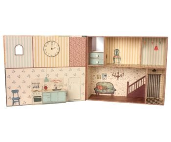 Maileg Mouse Book House Little French Heart 1
