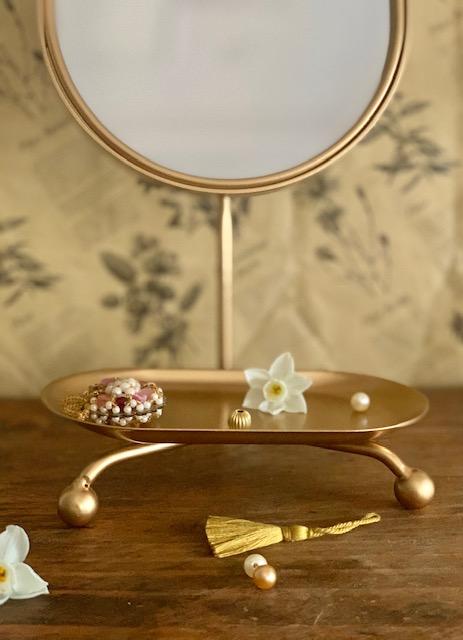 Maileg Table Mirror Little French Heart 2