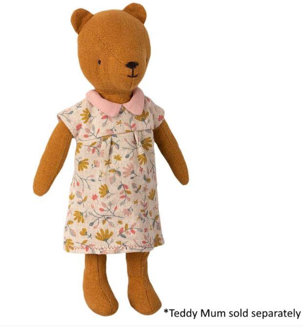 Mum ted in dress