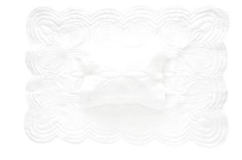 Bonne Mere Cot Quilt and Pillow Set - White