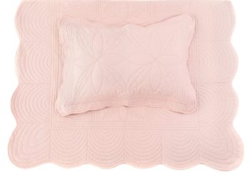 Single-bed-pillow-quilt-set-girl-shell-pink-bonne-mere