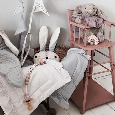 Bonne Mere Dolls Blanket - Powder